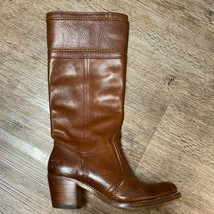 Frye boots brown